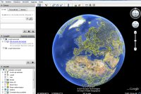 interfaccia google earth
